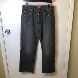 Hugo boss 34x32 button fly denim jeans